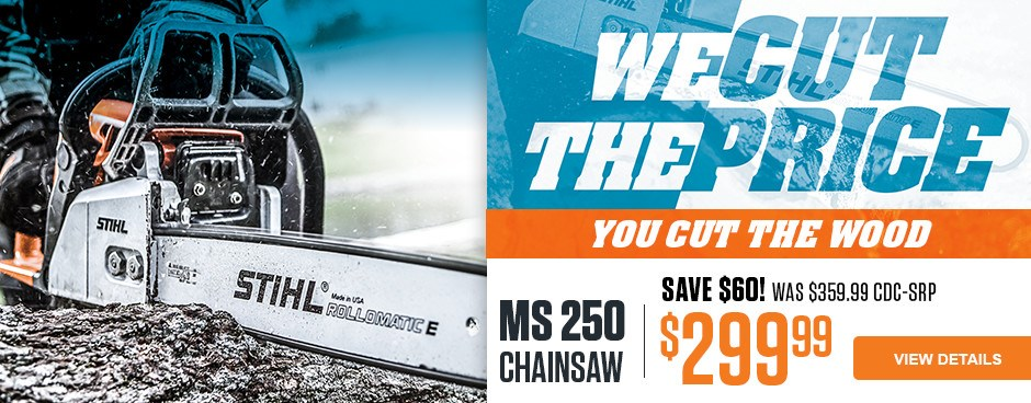 SAVE $60 on MS 250 Chainsaw